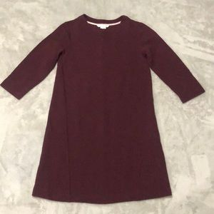 Boden Mini Dress Burgundy 6R